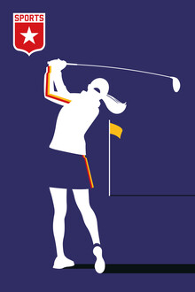 Bo Lundberg, Female Golf (United Kingdom, Europe)