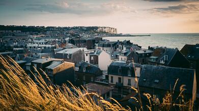 Goldene Stunde in Mers-les-Bains - fotokunst von Eva Stadler