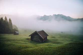 André Alexander, Früh morgens in den Alpen (Deutschland, Europa)