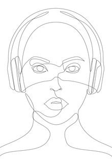 Sasha Lend, Girl with Headphones (Russia, Europe)