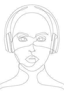 Sasha Lend, Girl with Headphones (Russland, Europa)