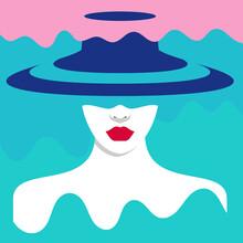 Sasha Lend, Woman in hat (Russia, Europe)