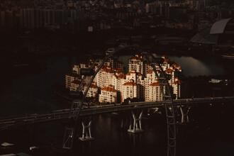 Singapur - fotokunst von Jonas Hafner