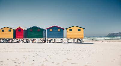 Eva Stadler, Am Strand von Muizenberg (Südafrika, Afrika)