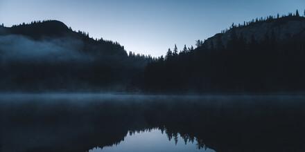 Ivan Bandic, Blaue Stunde @Sackwiesensee - Hochschwab (Austria, Europe)