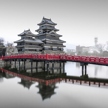 Matsumotu Castle II Japan - Fineart photography by Ronny Behnert
