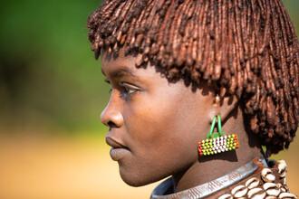 Miro May, Hamer Wife (Äthiopien, Afrika)