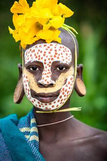 Miro May, Suri Lady (Äthiopien, Afrika)