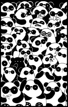 Katherine Blower, Panda Pandemonium (Großbritannien, Europa)