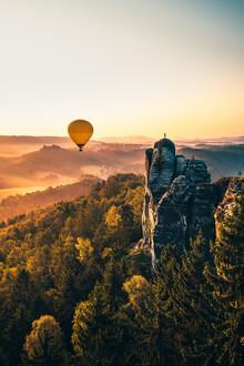Tobias Winkelmann, Sonnenaufgang Sächsische Schweiz (Deutschland, Europa)
