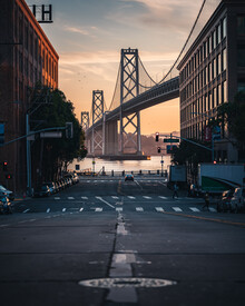 Dimitri Luft, golden hour SF (United States, North America)