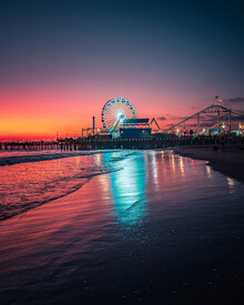 Dimitri Luft, Santa Monica sunset (United States, North America)