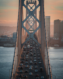 Dimitri Luft, SF Bay Bridge (United States, North America)