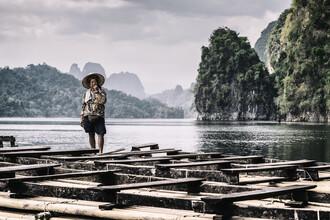 Franzel Drepper, Asiatin im Khao Sok Nationalpark, Thailand (Thailand, Asien)