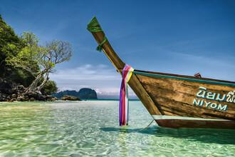Franzel Drepper, Longtailboot auf Bamboo Island, Thailand (Thailand, Asien)