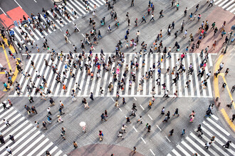 Jan Becke, Shibuya Crossing in Tokyo Japan (Japan, Asia)