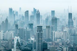 Jan Becke, Shanghai Skyline (China, Asien)