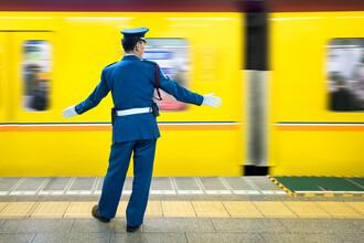 Jan Becke, U Bahn in Tokyo (Japan, Asien)