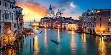 Jan Becke, Canal Grande in Venice Italy (Italy, Europe)