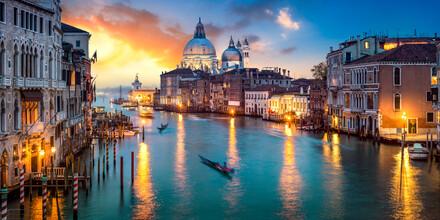 Jan Becke, Canal Grande in Venedig Italien (Italien, Europa)