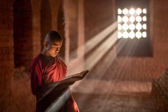 Jan Becke, Buddhist monk in Myanmar (Myanmar, Asia)