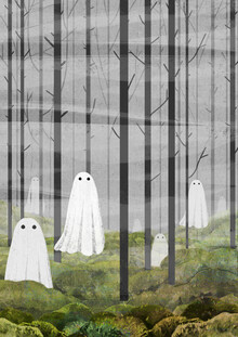 Katherine Blower, The Woods are full of Ghosts (Spring version) (Großbritannien, Europa)