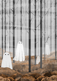 Katherine Blower, The Woods are full of Ghosts (Autumn version) (United Kingdom, Europe)