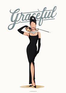 Draw Me A Song - Reviews, Audrey Hepburn Graceful (France, Europe)