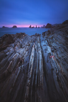 Jean Claude Castor, Asturien Playa Gueirua (Spanien, Europa)