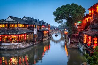Jan Becke, Wasserdorf Xitang in China (China, Asien)