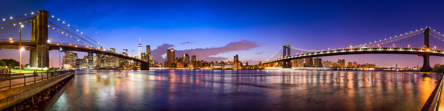 Jan Becke, New York City Skyline panorama (United States, North America)