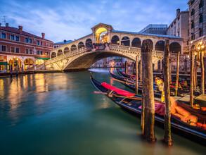 Jan Becke, Rialtobrücke in Venedig (Italien, Europa)