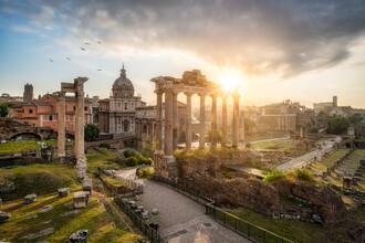 Jan Becke, Forum Romanum in Rom (Italien, Europa)