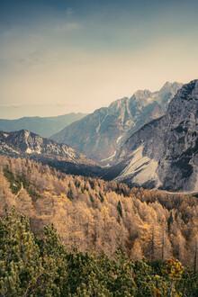 Eva Stadler, Let's away ... Herbst im Triglav Nationalpark (Slowenien, Europa)