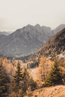 Eva Stadler, Let's away ... Herbstmagie in den Julischen Alpen (Slowenien, Europa)