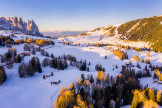 Giedra Bartas, Sunrise at Alpe di Siusi (Italy, Europe)