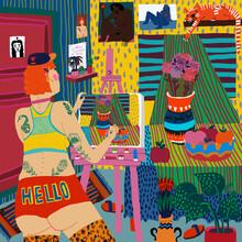 Ezra W. Smith, Kunstatelier (Polen, Europa)