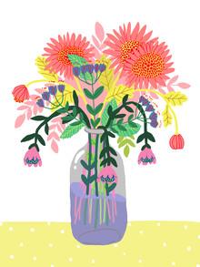 Ezra W. Smith, Flowers in a bottle (Poland, Europe)