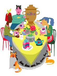Ezra W. Smith, Tuesday Tea Party (Polen, Europa)