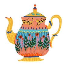 Ezra W. Smith, Tea Pot (Polen, Europa)