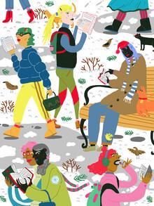 Ezra W. Smith, Winter Reading Club (Poland, Europe)