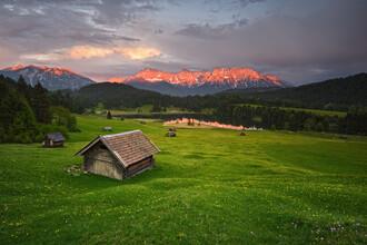 Rolf Schnepp, Alpenglühen (Deutschland, Europa)