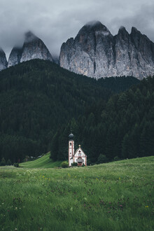 Christoph Schlein, Kapelle vor dem Geislergebirge (Österreich, Europa)