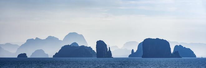 Franzel Drepper, Phang Nga Bay im Morgendunst, Thailand (Thailand, Asien)