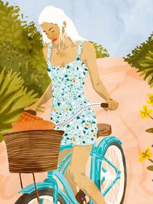 Uma Gokhale, Biking In The Woods (Indien, Asien)