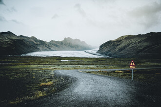 Franz Sussbauer, Weg zum Vatnajökull (Island, Europa)