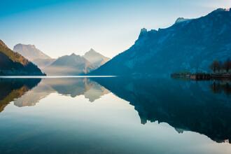 Martin Wasilewski, Morning at lake Traunsee (Austria, Europe)