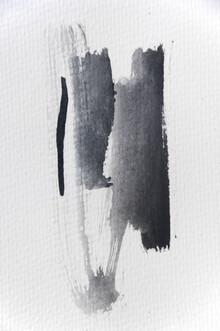Studio Na.hili, Aquarelle Meets Pencil - Black Strokes (Germany, Europe)