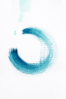 Studio Na.hili, Aquarelle Meets Pencil - Circle (Germany, Europe)