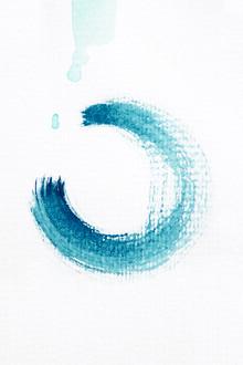 Studio Na.hili, Aquarelle Meets Pencil - Circle (Deutschland, Europa)